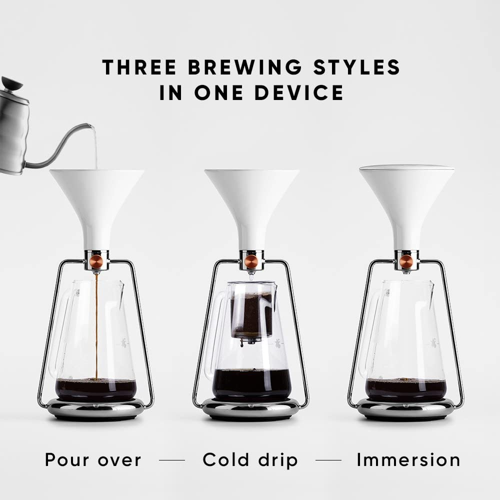 Goat Story GINA Coffee Brewer - Steel | ISHOM