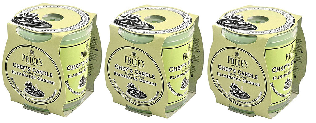 Price's Chef's Candle - Pack of 3 | ISHOM
