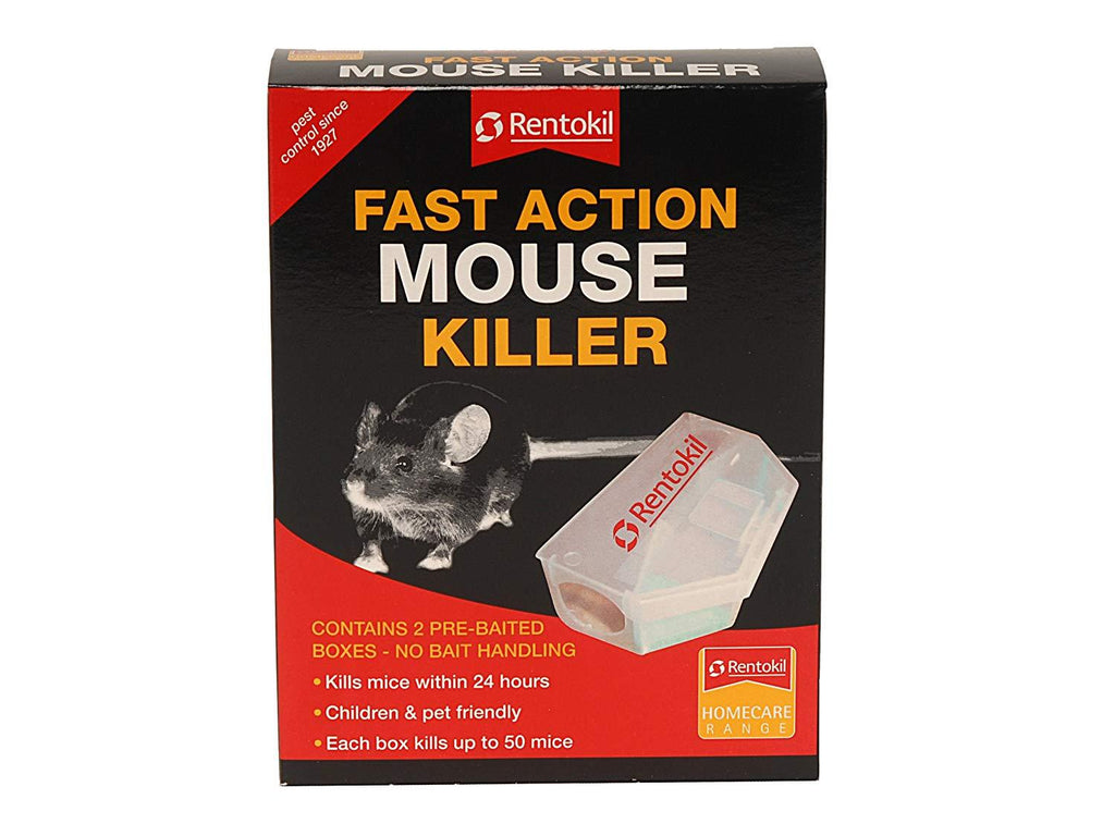 Rentokil PSF135 Fast Action Mouse Killer Twin pack | ISHOM