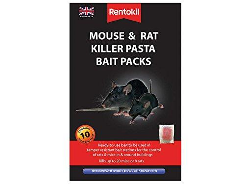 Rentokil FMR52 mouse and rat killer pasta bait - pack of 10 | ISHOM