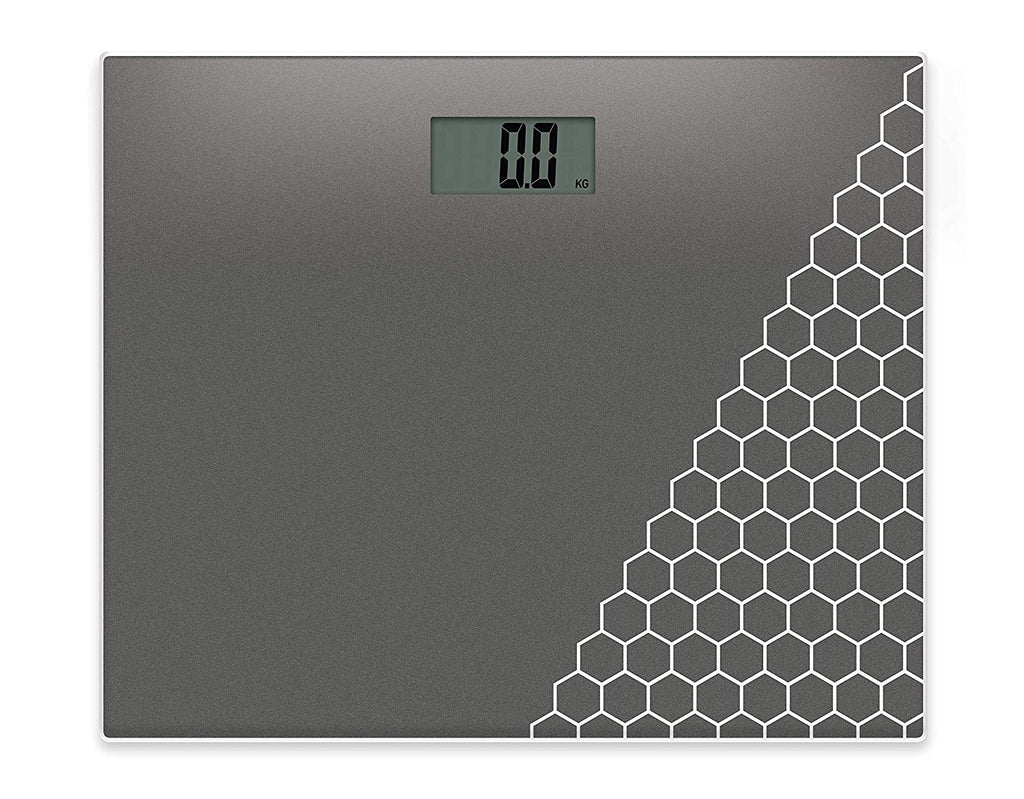 SALTER compact glass electronic bathroom scale 9210SV3R | ISHOM