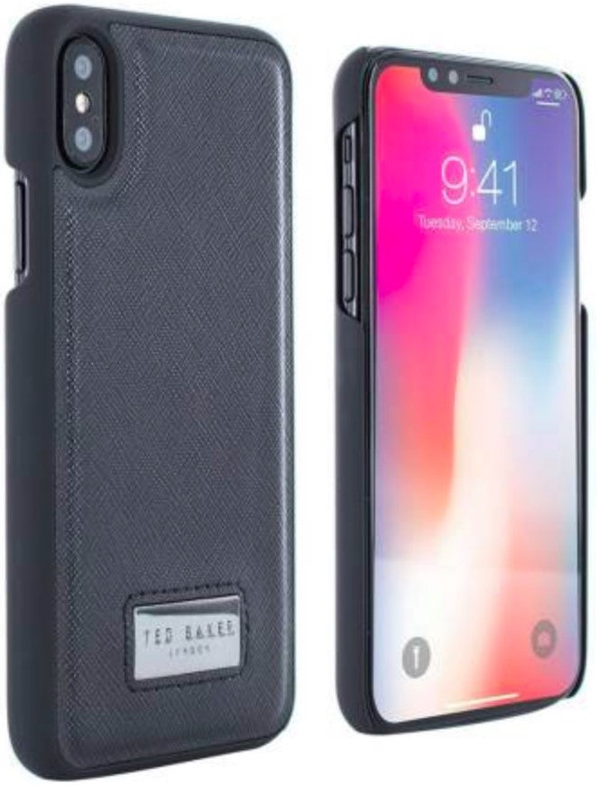 TED BAKER Black Franky iPhone X Case - iShom