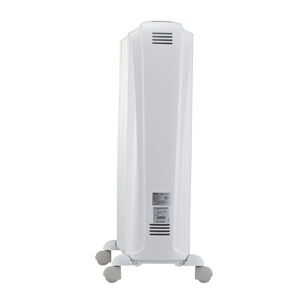 De'Longhi Dragon 4 TRD40820T Oil Filled Radiator- White - iShom