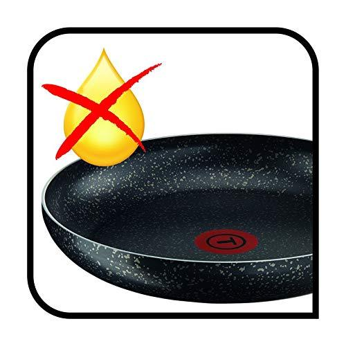 Tefal Frying Pan 28cm Origins Non-Stick Black Stone Effect - iShom