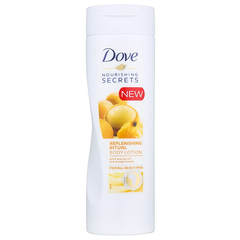 dove lotion 400ml replenishing ritual