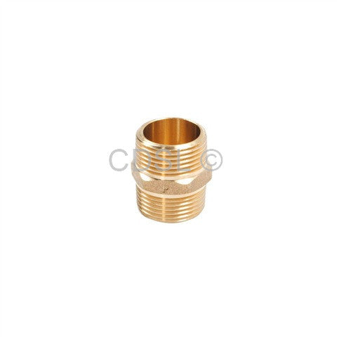 "Brass Hose Connector 3/4""X 3/4"" Threaded : Connector For Inlet Hoses - iShom"
