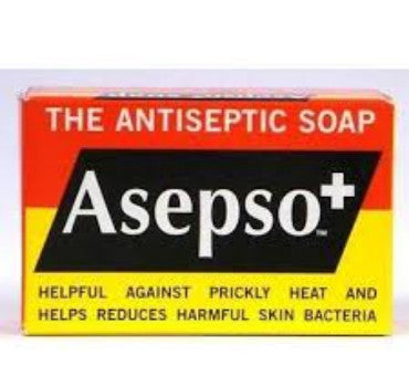 Asepso+ Antiseptic Soap Bar 80g | ISHOM