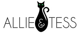 Allie & Tess Black Cat Logo