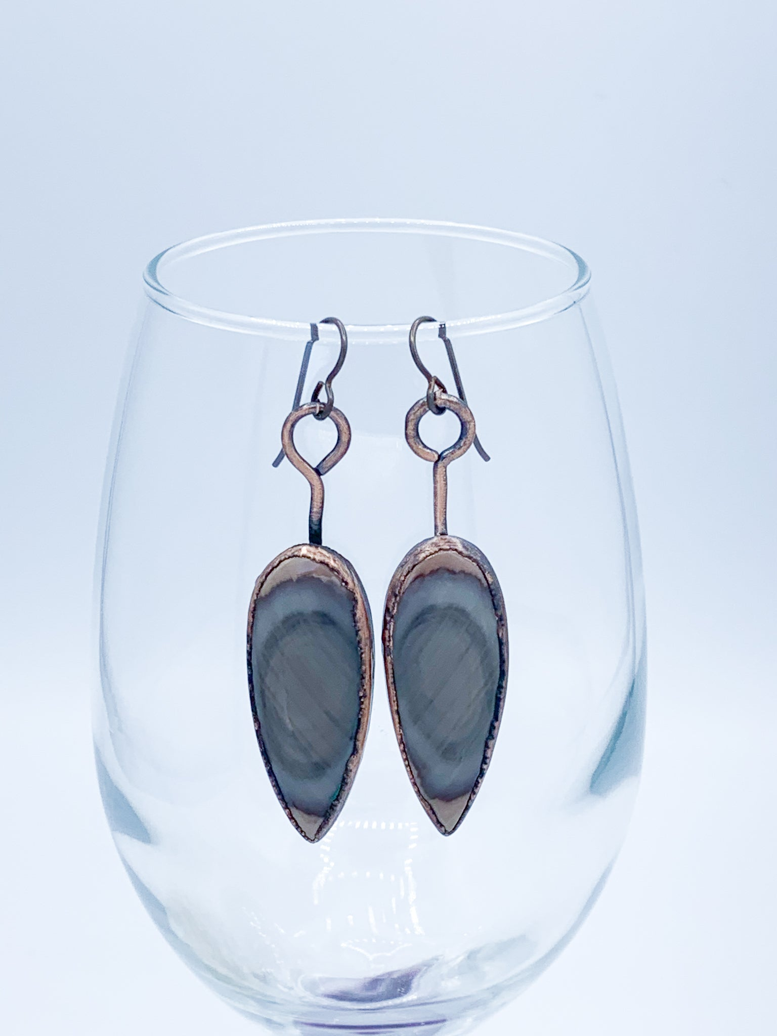 Imperial Jasper Talon Earrings - Allie & Tess