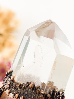 Phantom Rutile Quartz - Allie & Tess