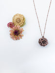 Zinnia Bloom Pendant - Allie & Tess