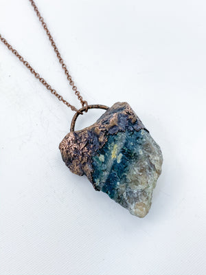 Rough Ocean Jasper Pendant - Allie & Tess