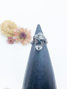 Herkimer Diamond Ring- sz 7.5 - Allie & Tess
