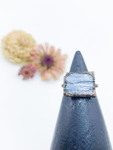 Blue Kyanite Ring- sz 4.5 - Allie & Tess