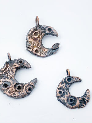Crescent Moon Pendants - Allie & Tess