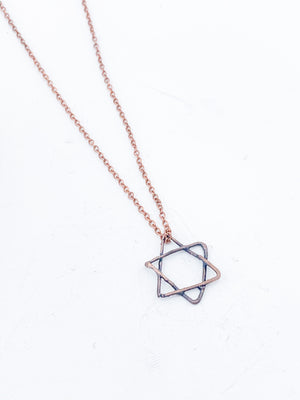 Star of David Pendant - Allie & Tess