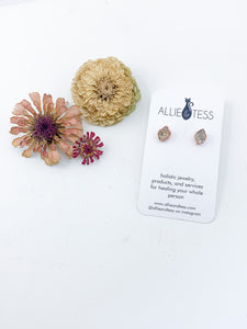 Herkimer Diamond Studs - Allie & Tess