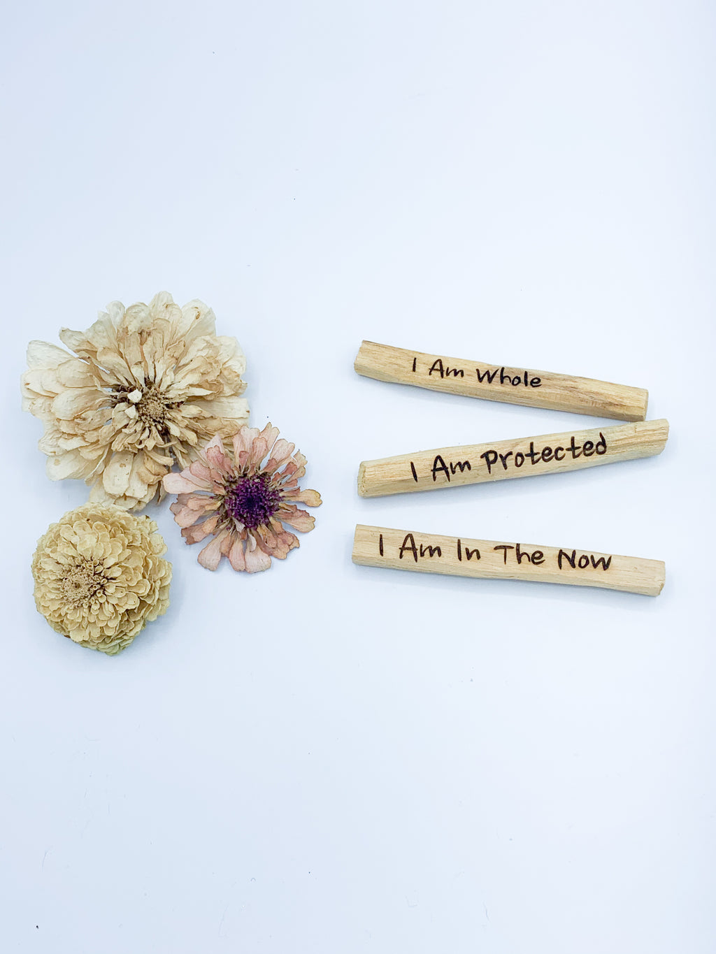 Palo Santo Sticks- Affirmation Set - Allie & Tess