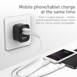 USB 3.0 UK Wall Charger Plug