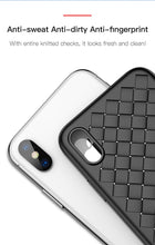 Load image into Gallery viewer, Luxury Grid Pattern Case For iPhone X