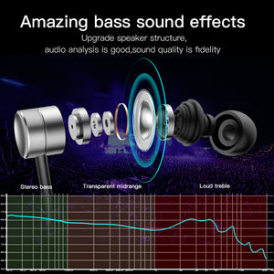 High Quality Extra Bass Earphones With Mic