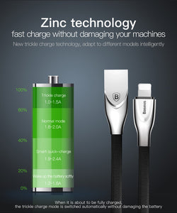 Zinc Alloy Charging Cable For iPhone