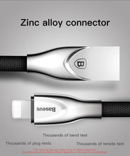 Load image into Gallery viewer, Zinc Alloy Charging Cable For iPhone