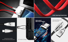 Load image into Gallery viewer, USB Type C Quick Charge Cable