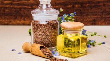The Power Behind  Canine Flaxseed Oil