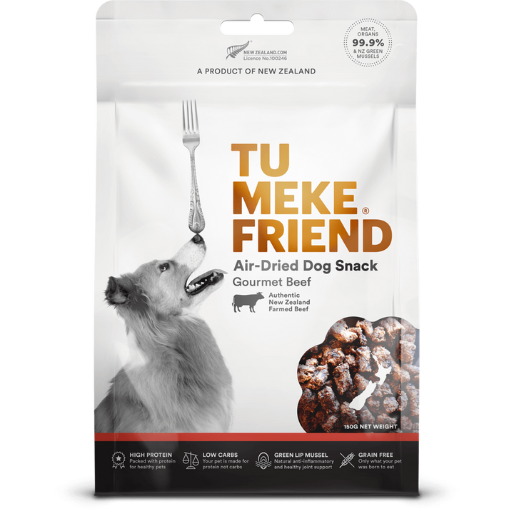 Tu Meke Friend - Air Dried Dog Snacks - Gourmet Beef