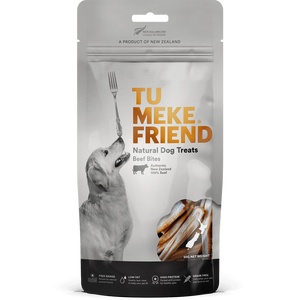 Tu Meke Friend - Air Dried Dog Treats - Beef Bites Bag