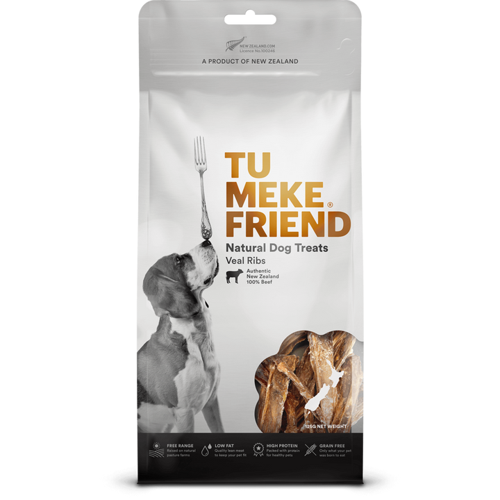 Tu Meke Friend - Air Dried Dog Treats - Veal Ribs