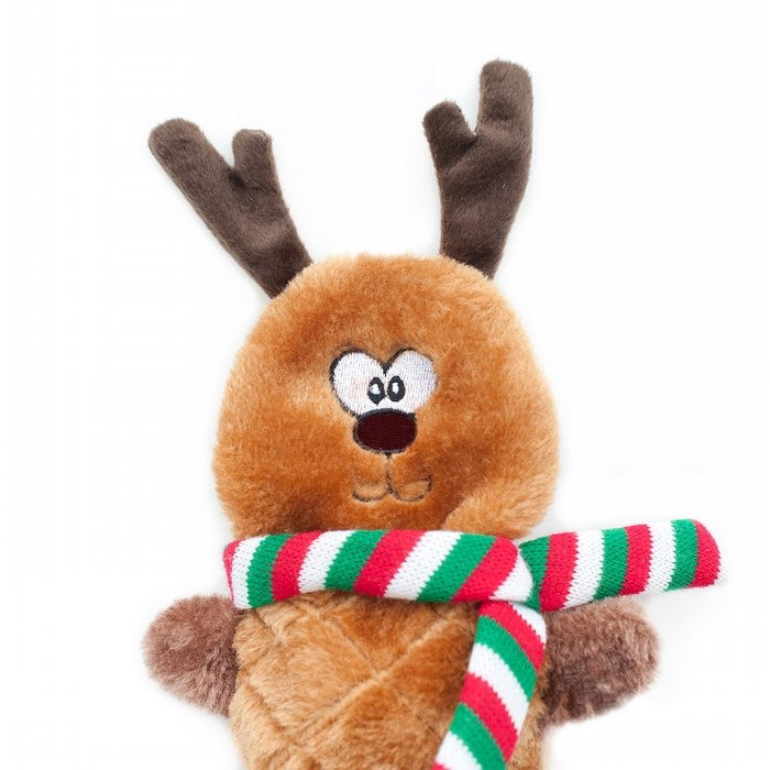 HOLIDAY JIGGLERZ REINDEER - Dog Toy