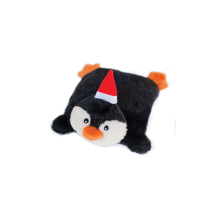 HOLIDAY SQUEAKIE PADS PENGUIN - Dog Toy
