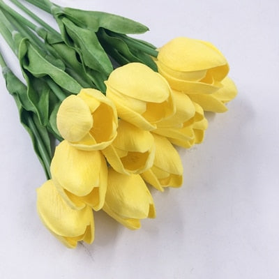 20pcs Artificial Flowers Real Touch Wedding Party Decoration