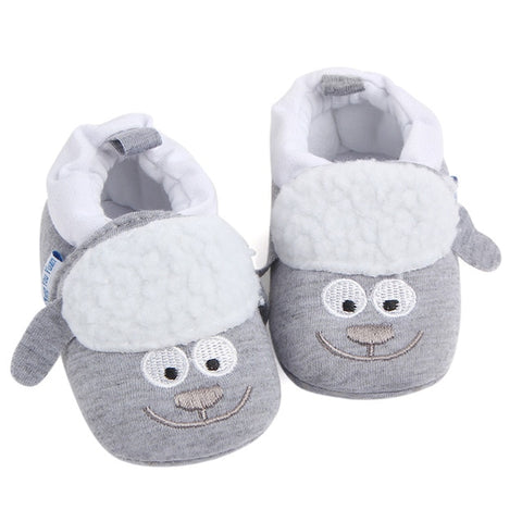 Toddler Shoes Soft Fring  Bowknot Canvas Anti-slip