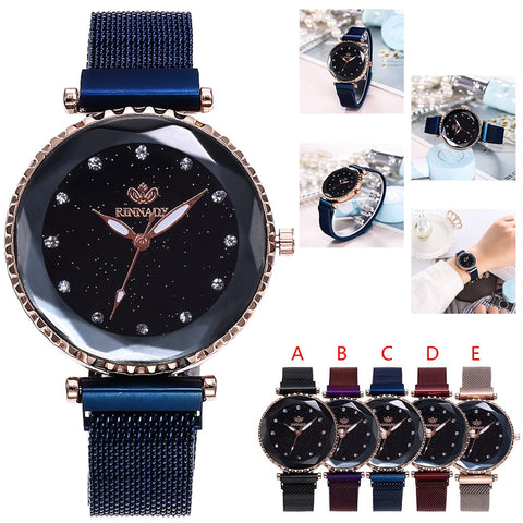 Wrist watches for women Fashion Magnetic buckle
