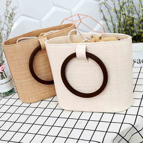 Style Women's Summer Shoulder Straw Bags