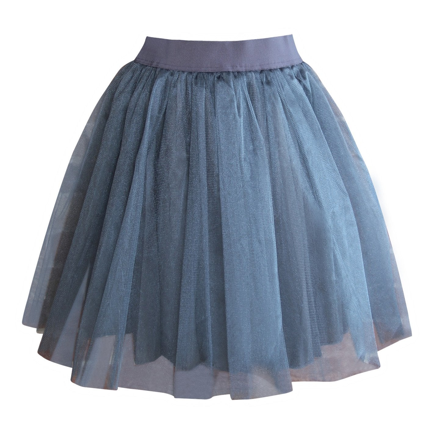 Grey Tulle Skirts - Matching Mum And Daughter Set Skirt