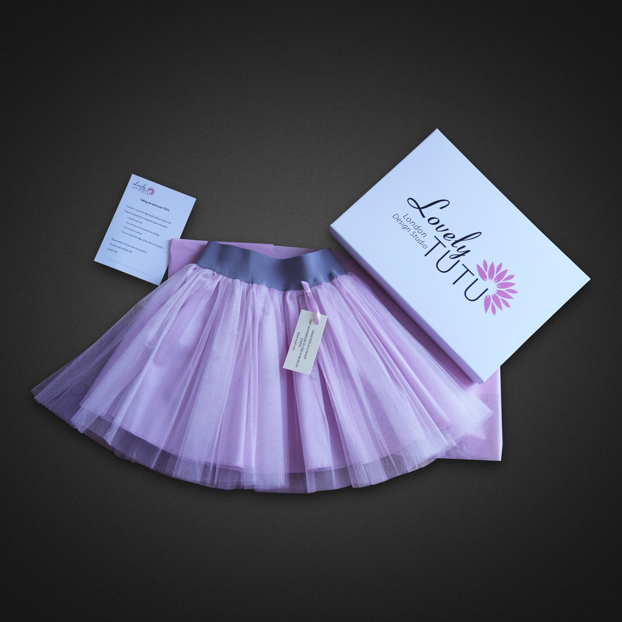 Pale Pink Tutu For Girls Skirt