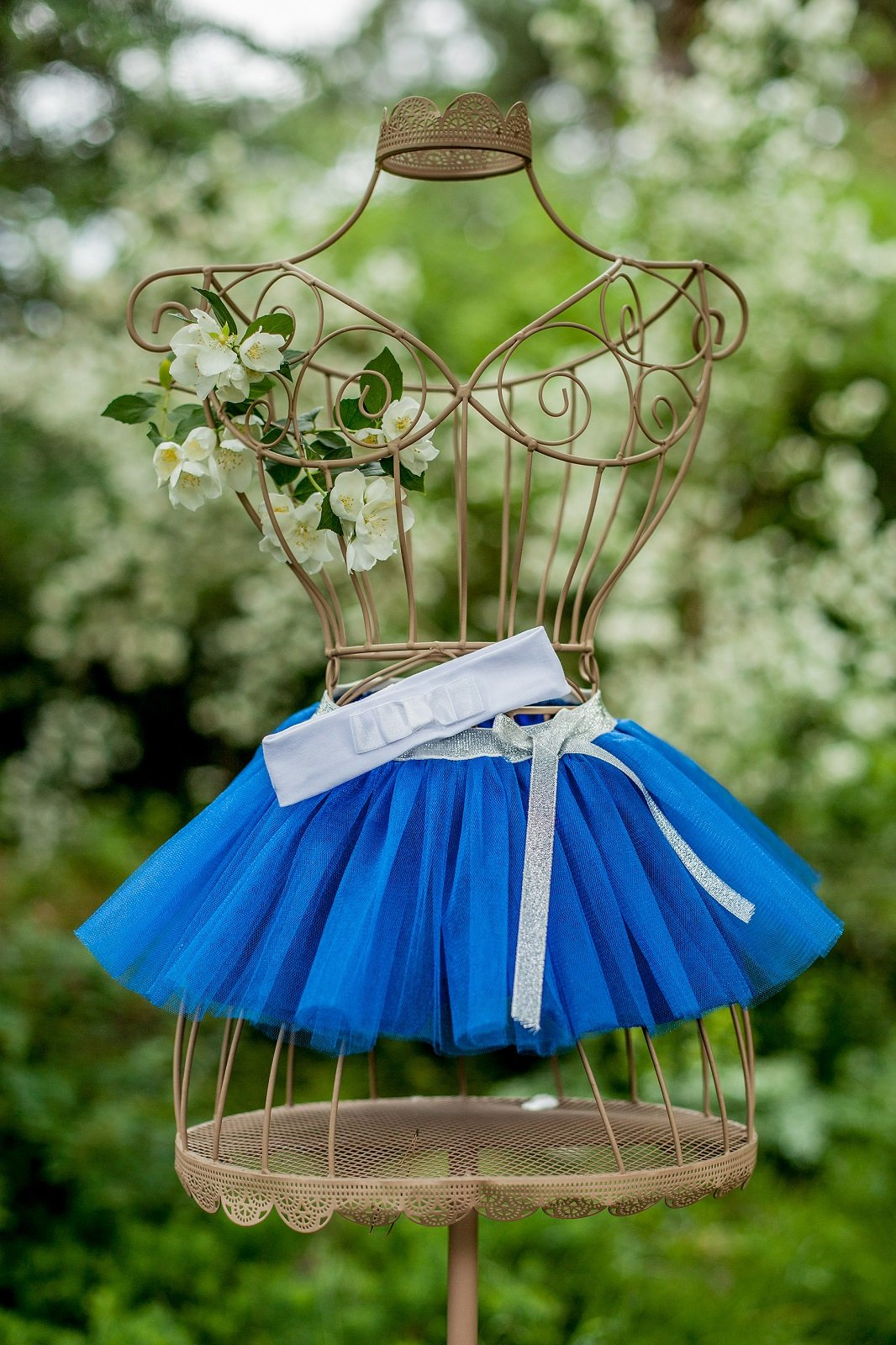 This is Blue Baby Tutu Skirt.