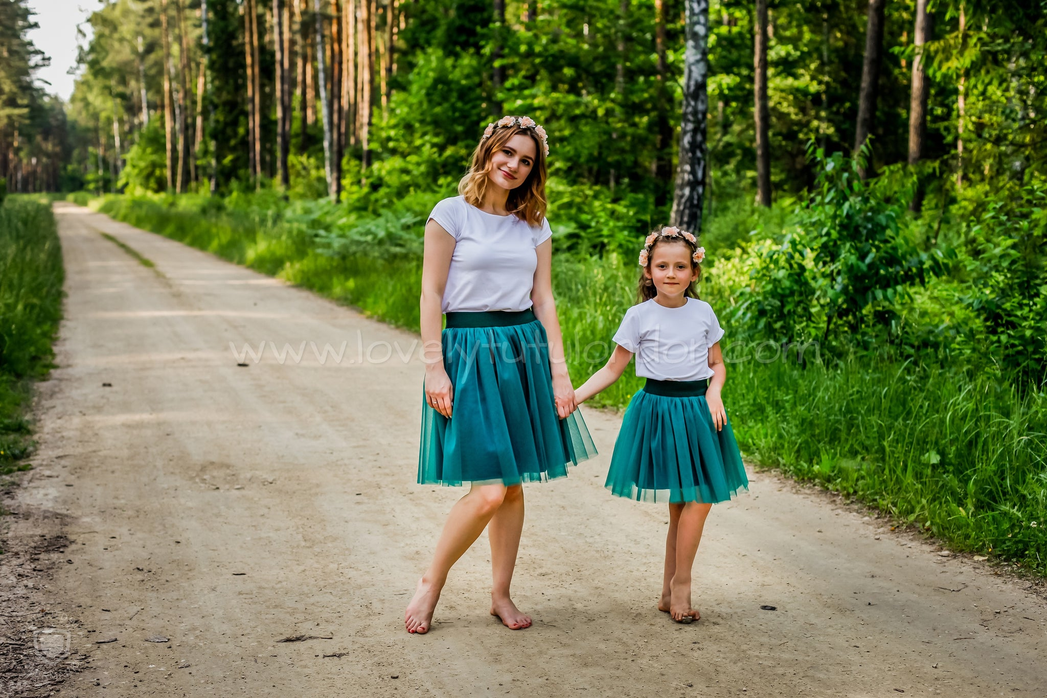 Mum and Daughter Set - Turquoise
