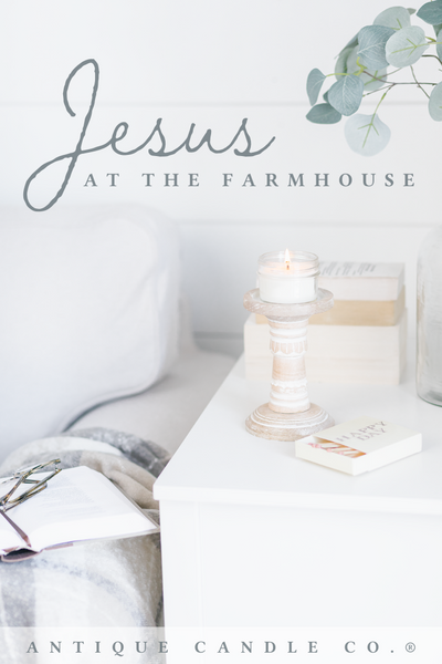 Jesus at the farmhouse