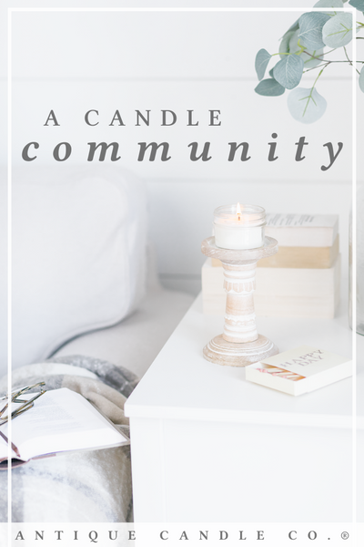 a candle community