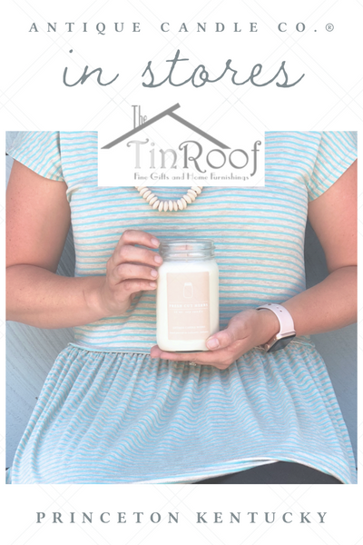 Antique Candle Co. in stores: The Tin Roof