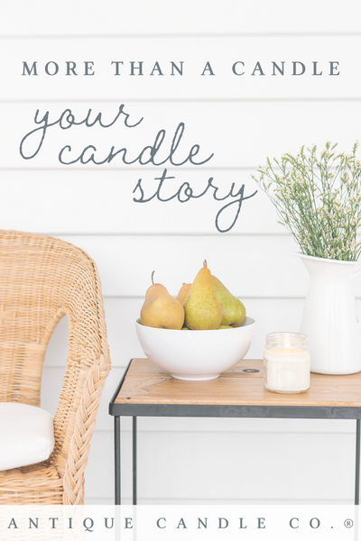 more than a candle: your candle story