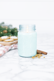 Homemade Gingerbread 16 oz blue jar candle