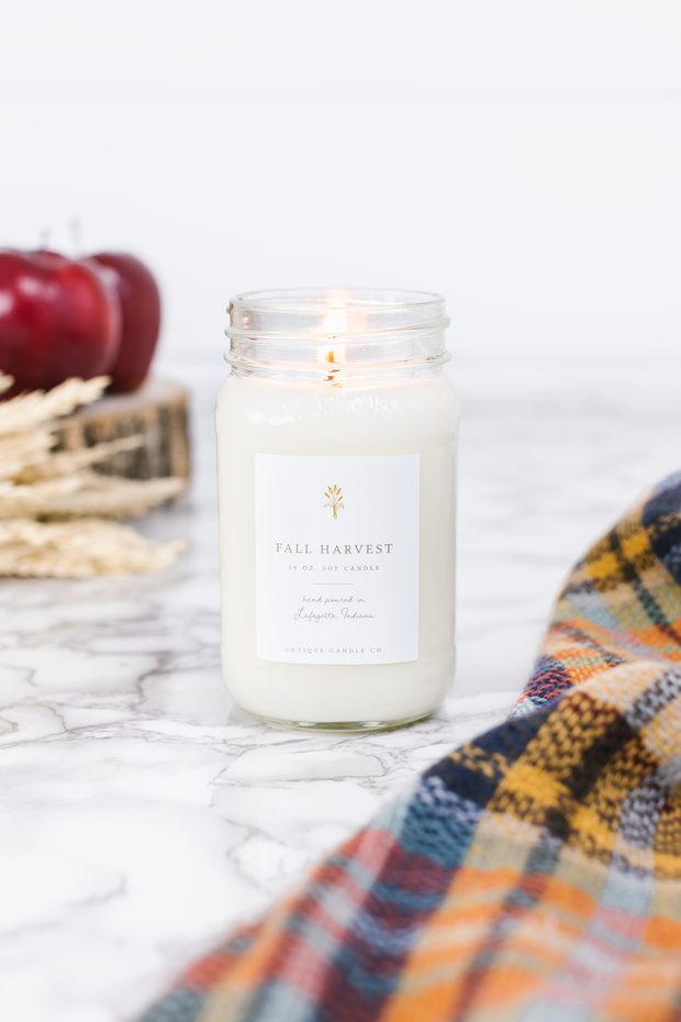 Fall Harvest 16 oz candle