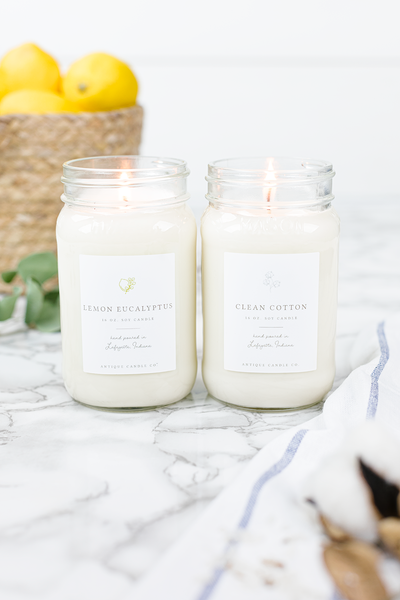 Clean Cotton & Lemon Eucalyptus Bundle