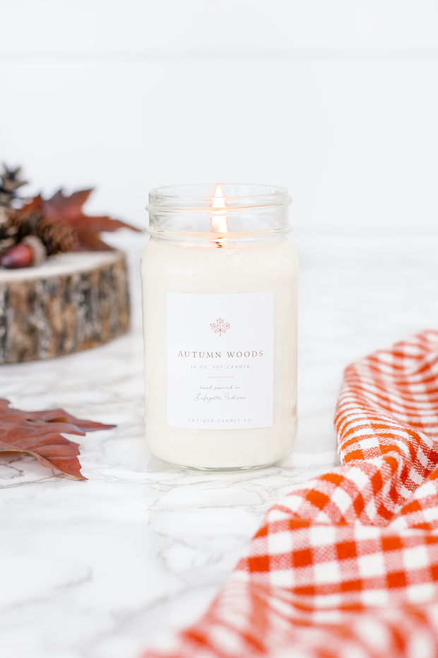 Autumn Woods 16 oz candle